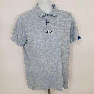 Oakley Men's Tailored Fit Polo Shirt Size Medium L